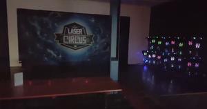 Hier ein kleiner Eindruck von unserem neuen Lasertag Circus!
